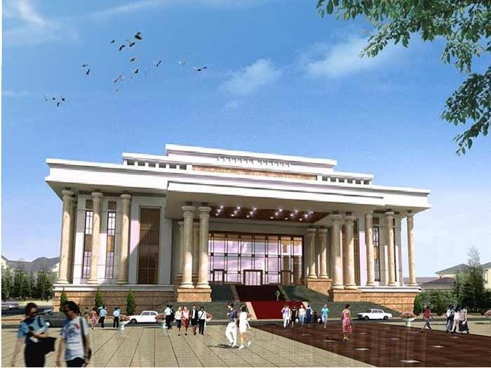 Công trình rèm cửa tại Quảng Bình