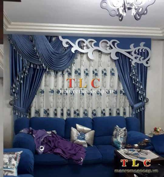 rèm sò trang trí cho biệt thự
