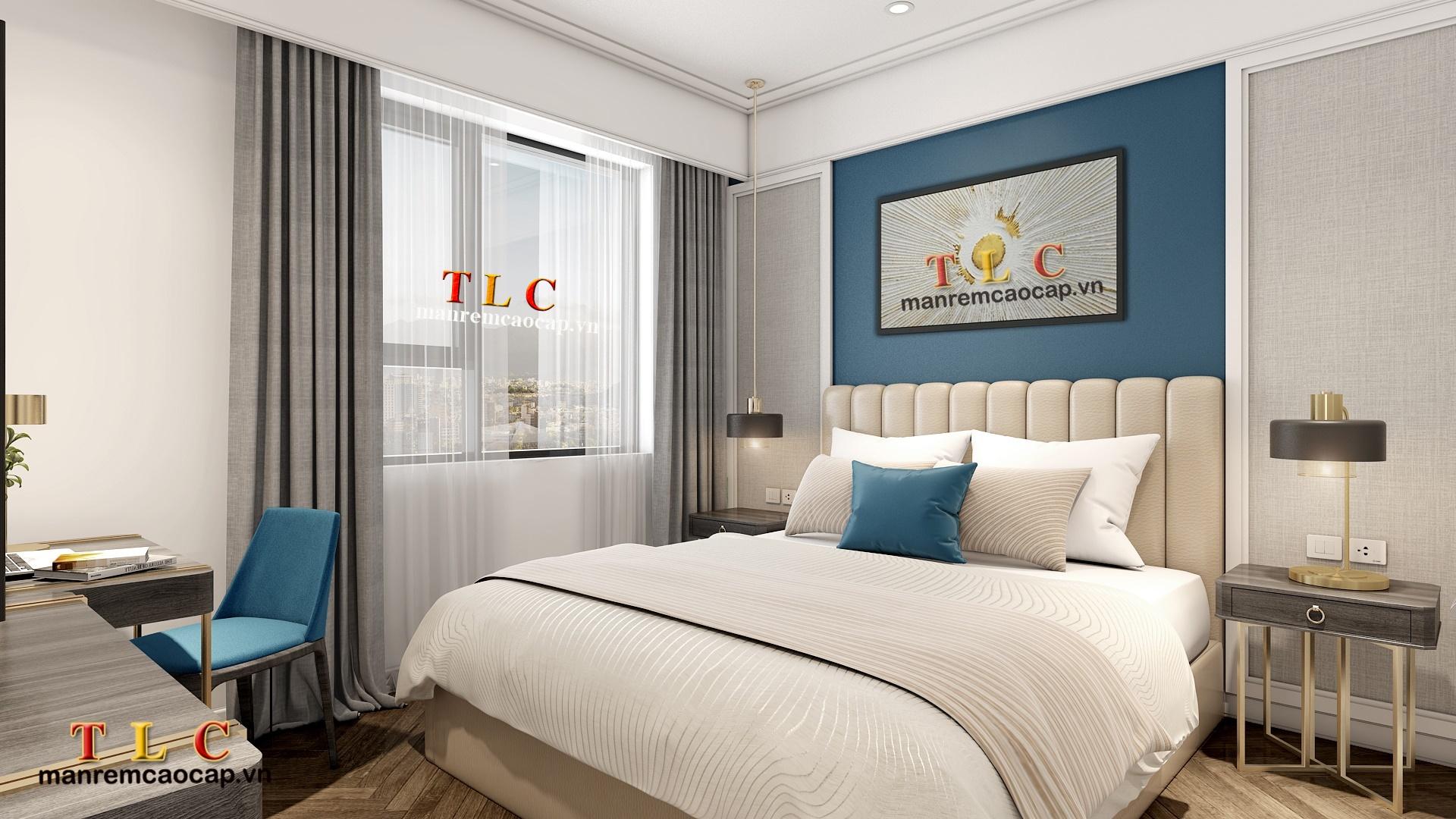 rèm chống nắng - rèm cản sáng cho phòng ngủ