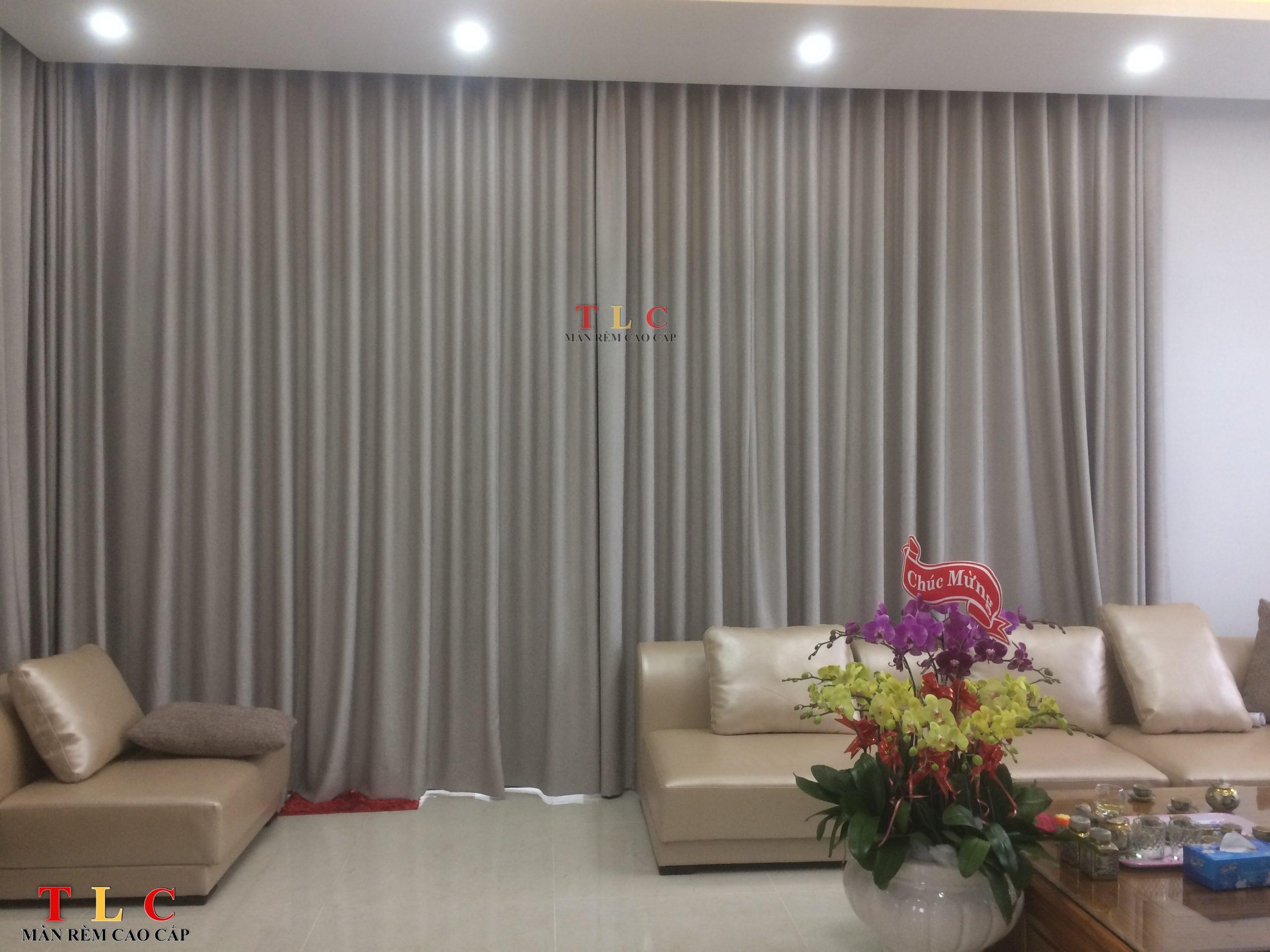 rèm chống nắng phòng khách